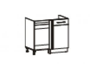 Стол под мойку угловой универсальный (без столешницы) 100х53х82 17.52